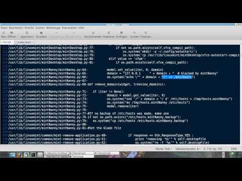 Linux Scripts Hacken - Demo Exploit (deutsch|german)