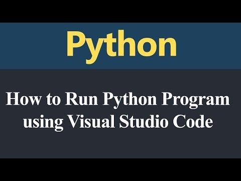 How to Run Python Program using Visual Studio Code (Hindi) thumbnail