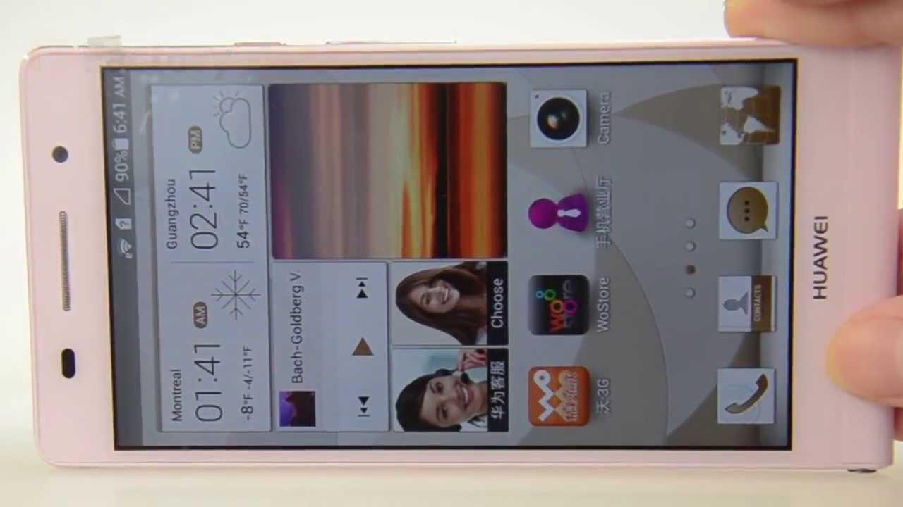 FGO-Ascend-P6-U06 HUAWEI Ascend P6-U06 3G mobile phone WCDMA / GSM  Quad-core 5MP Front+8MP Rear