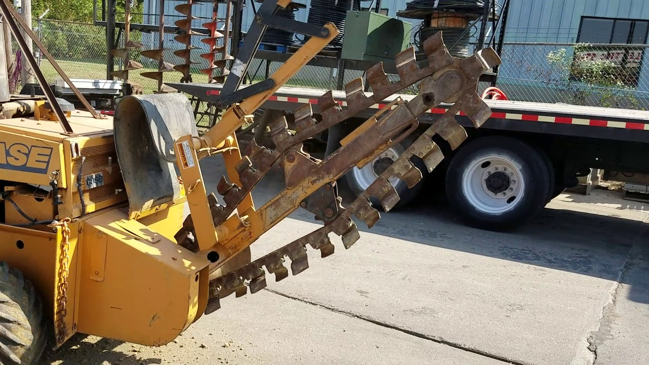 1993 Case 360 Trencher/Cable Plow & Backfill Dozer BigIron Auctions