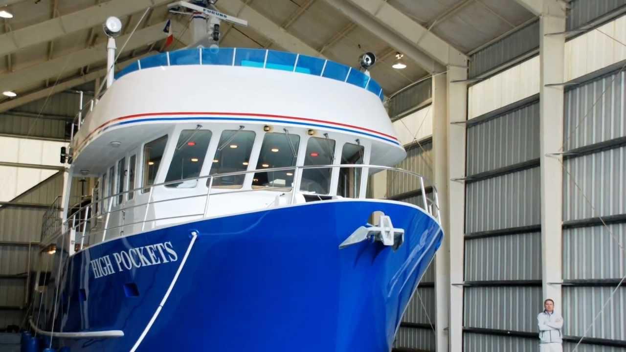 Freedom Marine's listing for the 72' ABD Trawler `High Pockets`
