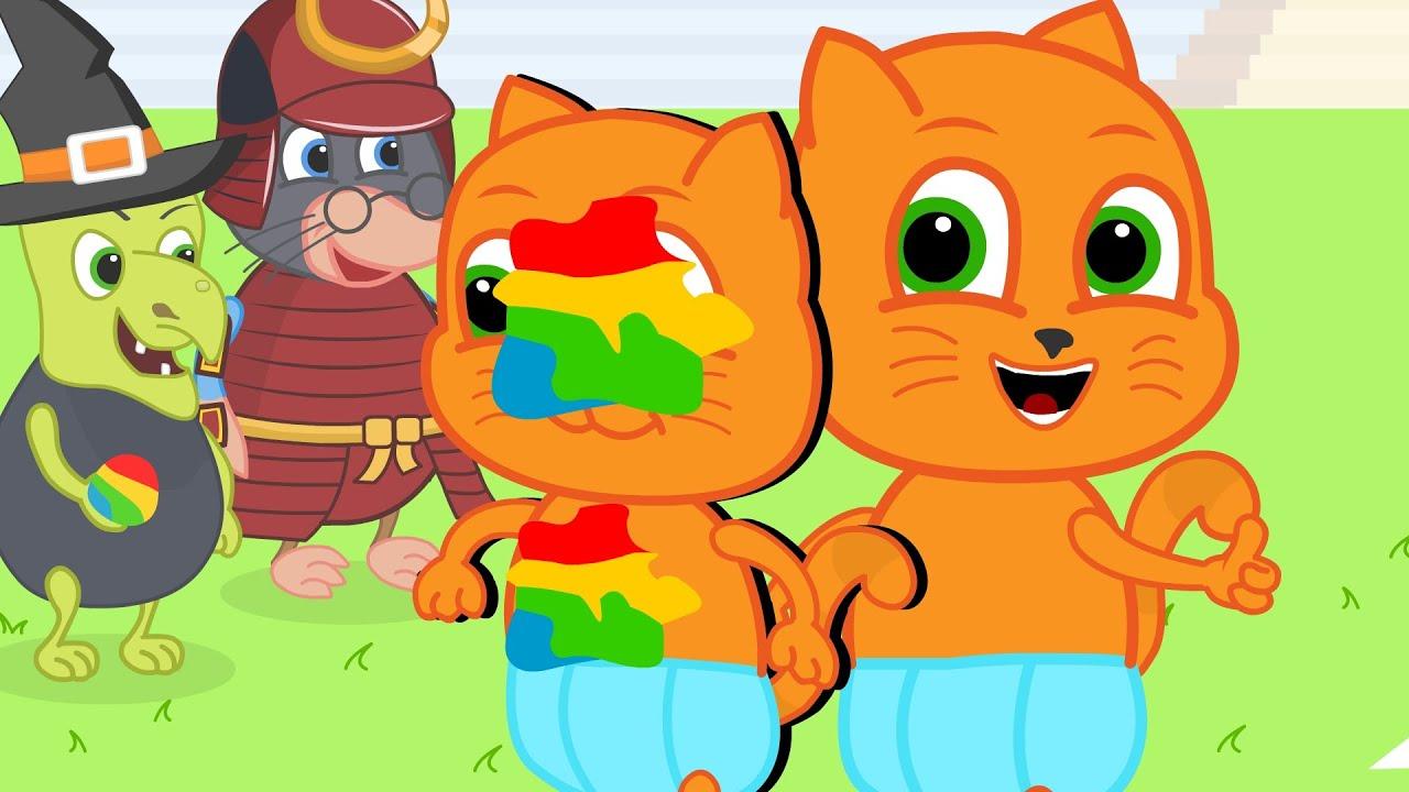 Download Família de Gatos - Jogo da lula Animado em Português Brasil