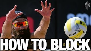 Beach Volleyball Blocking Calls Explained