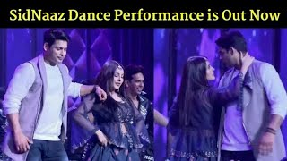 Sehnaaz And Sidhart Dance performance in mirchi awards 2020 / Sidnaaz Dancing Together
