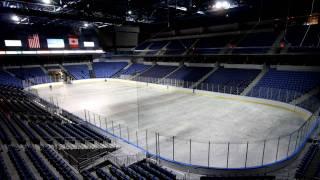 Arena floor change timelapse