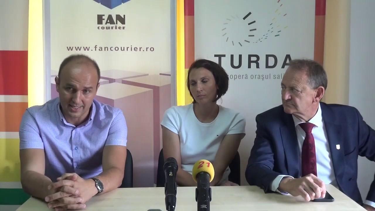 AHC Potaissa Turda a lansat proiectul privind handbalul feminin (09.09.2019)