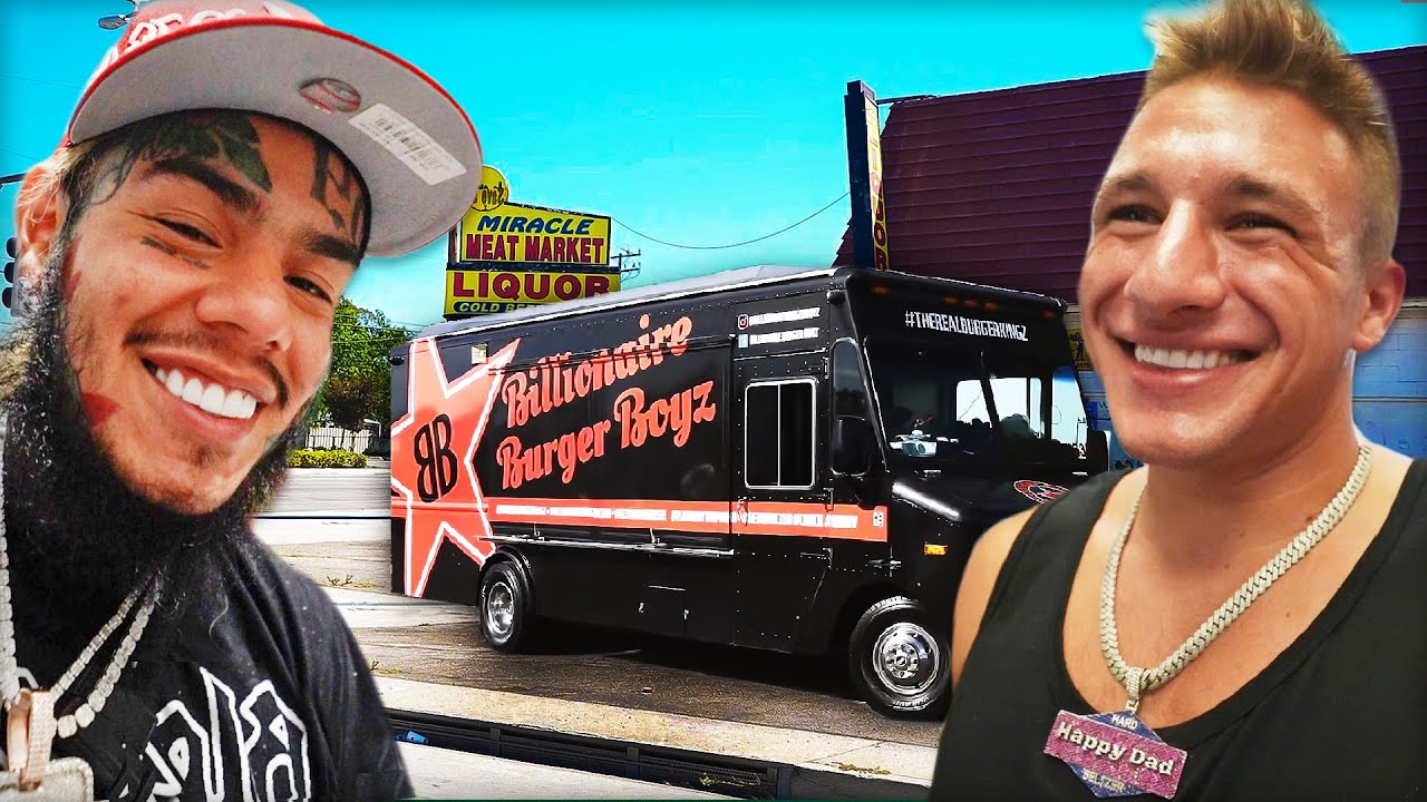 Download I Opened a Free Food Truck in COMPTON! (With 6ix9ine)