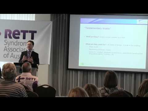 2015 Australian Rett Conference- Peter Hewish, Estate Planning
