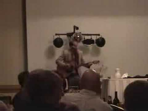 Rogaine Song is Funny Parody of Eric Clapton song Cocaine by Rog Bates comedy for award banquet