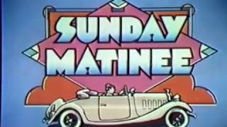 """WGN Channel 9 - Sunday Matinee - """"Charlie Chan And The Feathered Serpent"""" (Opening, 1981)"""