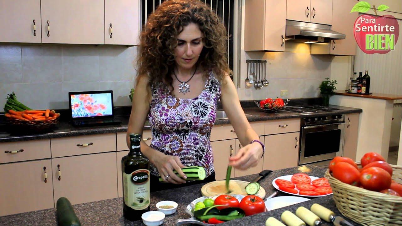 Cena rica ligera y nutritiva youtube for Cocinar para 9 personas