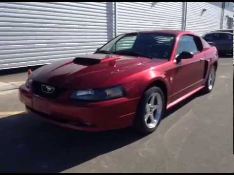 red 2004 ford mustang gt 40th anniversary edition stick shift in lethbridge alberta youtube. Black Bedroom Furniture Sets. Home Design Ideas