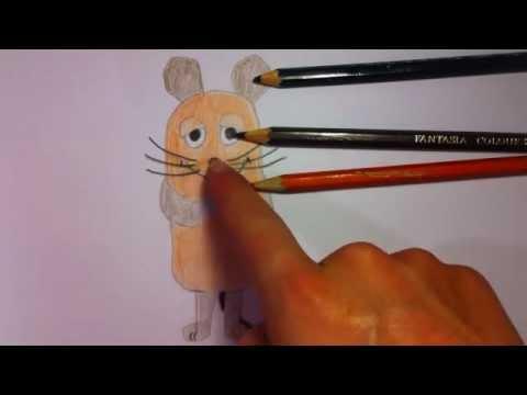 Maus Von Sendung Mit Der Maus Zeichnen Malvorlage