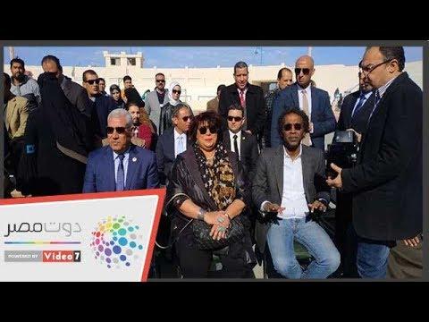 وزيرة الثقافة تفتتح فعاليات مؤتمر أدباء مصر فى مطروح  - نشر قبل 24 ساعة