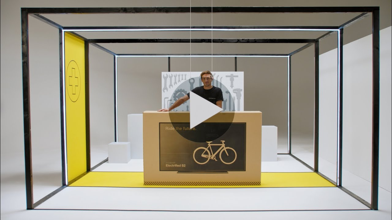 Unboxing the VanMoof Electrified S2 & X2