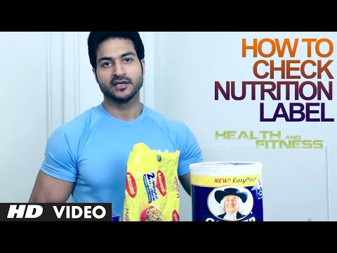 How To Check Nutrition Label | Health and Fitness Tips | Guru Mann