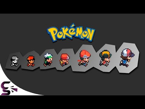 The Evolution Of Graphics: Nintendo - Pokemon (1996 - 2016)