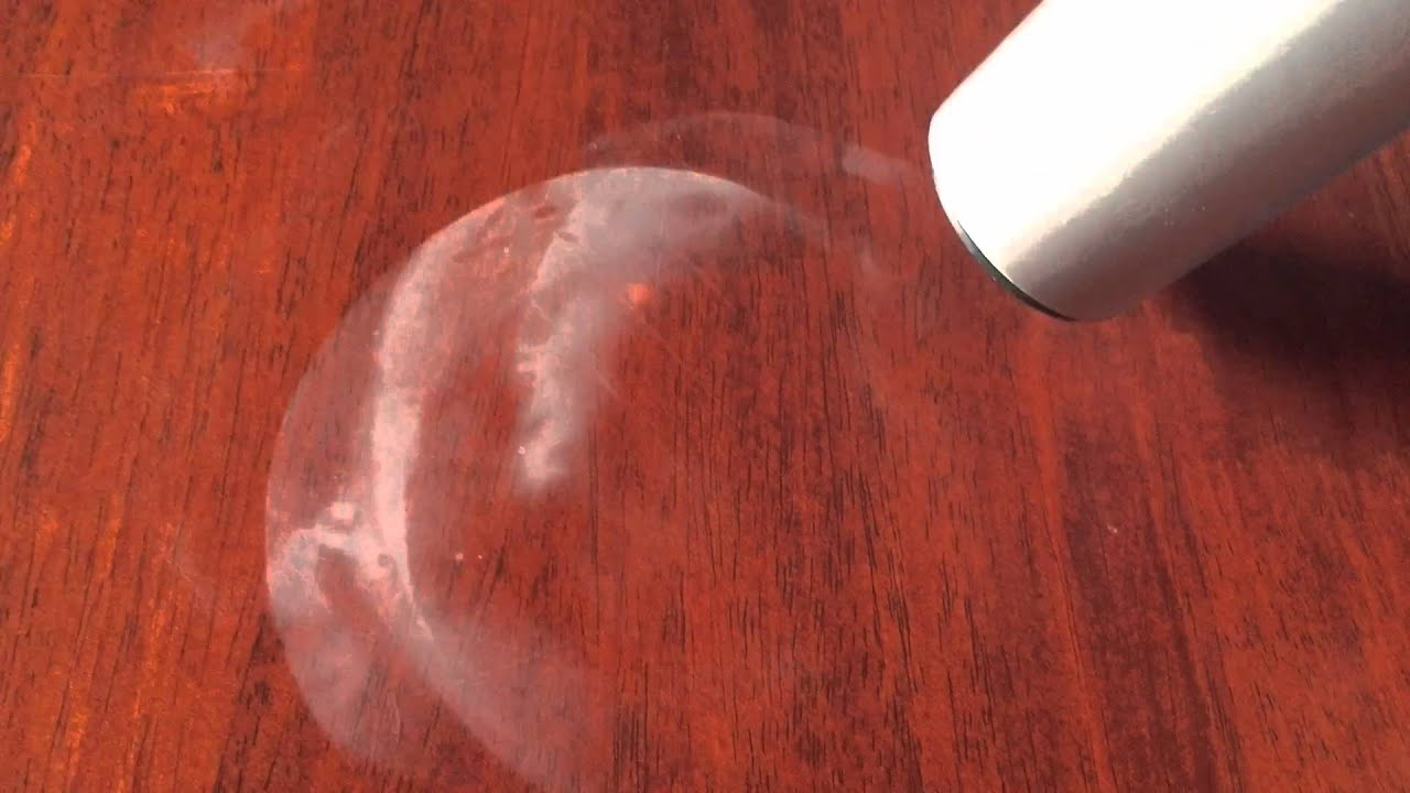 How To Clean White Marks Off A Polished Wooden Tabletop