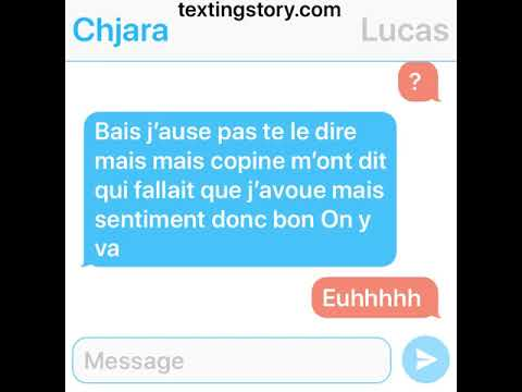 SMS // Histoire D'amour ❤️❤️❤️