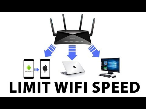 How to Limit WiFi Speed 100% Working - Professional Tutorial