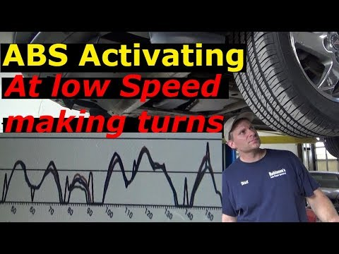 ABS Activating at low speeds, brake pedal kicking back 2004 Pontiac
