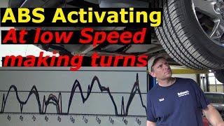 ABS Activating at low speeds, brake pedal kicking back 2004 Pontiac