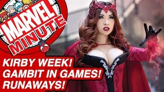Kirby week! Gambit in games! Marvel's Runaways! - Marvel Minute 2016