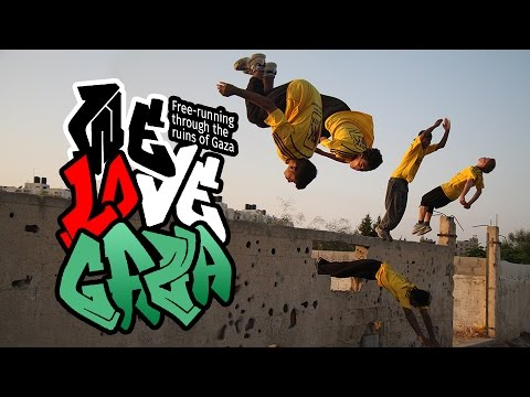 We Love Gaza (Short Version) Free-running through rubble: incredible parcour Gaza style