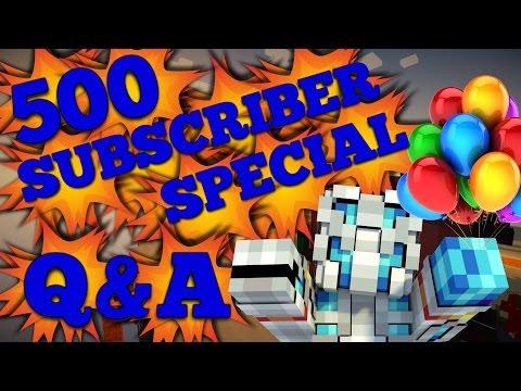 """500 SUBSCRIBER Q&A"""