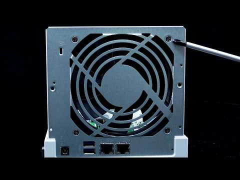 TS-431P|Tutorials Of Fan Installation And Cleaning