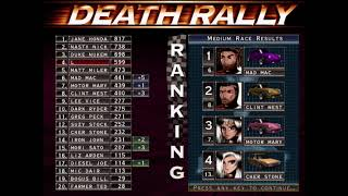 Death Rally The best car that you can get in the game