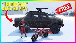 GTA 5 Online - NEW UPDATE! Snow Is HERE, FREE $1,750,000 Vehicle Gifts & MORE! (GTA 5 NEW YEARS EVE)