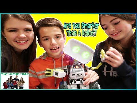 ARE YOU SMARTER THAN A ROBOT?  That YouTub3 Family