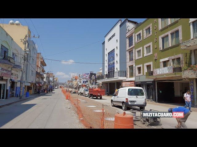 ¿Porqué todas las obras al mismo tiempo en Zitácuaro?