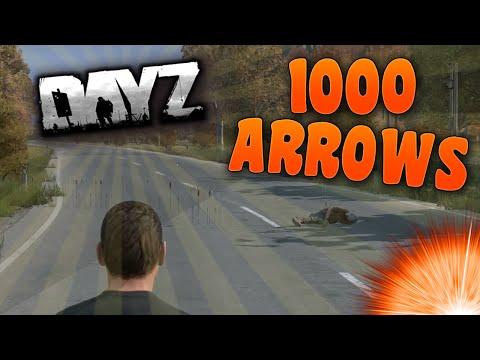 DayZ Standalone - 1000 Arrows! (A Trolling Hacker)