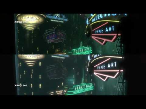 Bioshock Xbox ONE - 360 Comparison