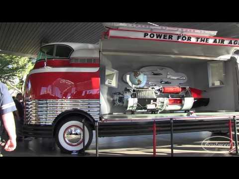 "1939 GM Futurliner ""Parade of Progress"" at SEMA 2014 from Eastwood"