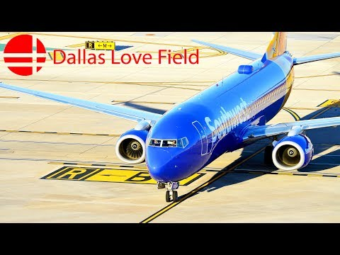 Plane Spotting In Dallas Love Field Airport (KDAL/DAL) Part 2
