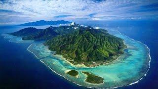 Polynésie française (POM): L'île de Moorea et son histoire.