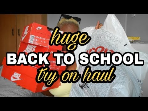 HUGE COLLEGE/UNIVERSITY TRY ON HAUL (MR PRICE, COTTON ON, SPORTSCENE) | SOUTH AFRICAN YOUTUBER