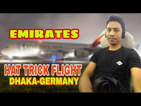 Hat Trick Flight ||  Dhaka To Germany ||
