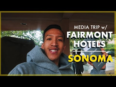 3 Day Luxury Media Trip With Fairmont Hotels: Fairmont Sonoma Mission Inn & Spa