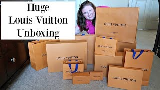 Huge Louis Vuitton  Unboxing from Poland