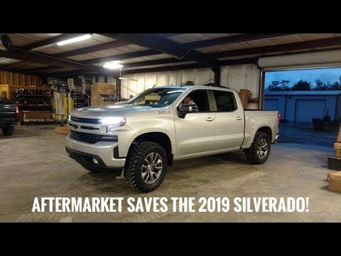 the first lifted 2019 silverado