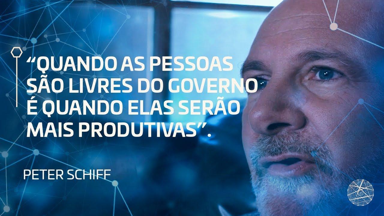 Quando as pessoas são livres do governo, é quando elas serão mais produtivas | Peter Schiff