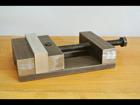 How to make Drill Press Vise at home