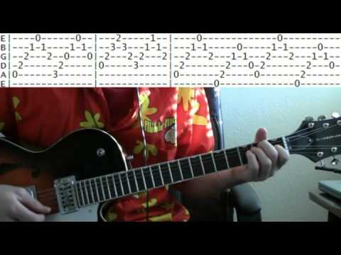 guitar lessons online the animals house of the rising sun tab youtube. Black Bedroom Furniture Sets. Home Design Ideas