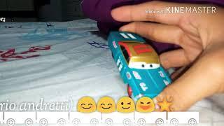 Mattel Disney cars 1 (mario andretti) 😊😉😆🌠