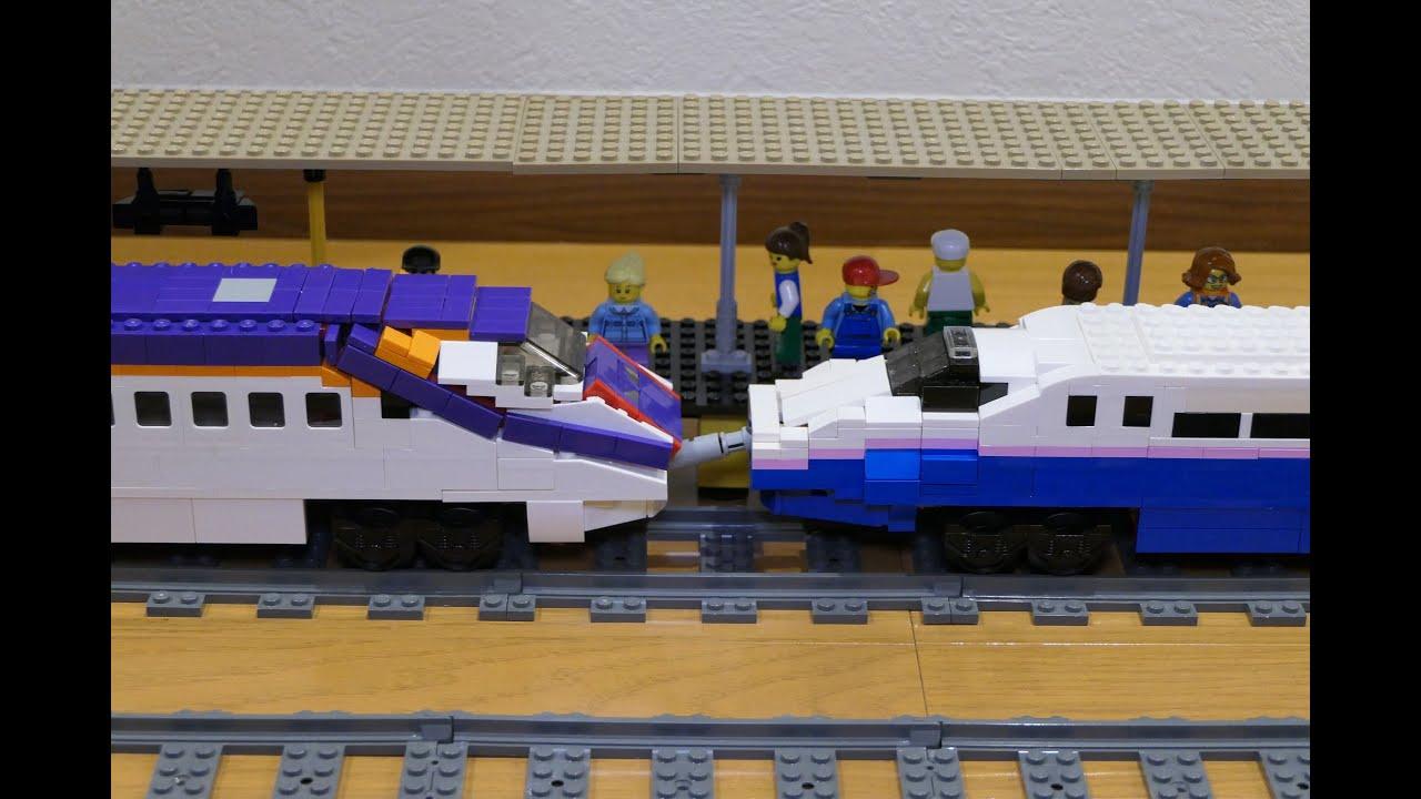 LEGO E2系やまびこ&E3系つばさ E5&E6 series Shinkansen