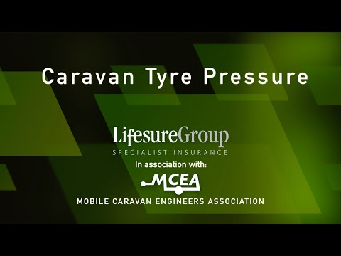 Lifesure - How to check your caravan tyre pressure